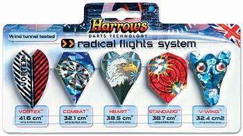HARROWS Radical Flights