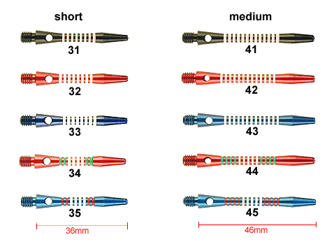 Design Colour Shafts