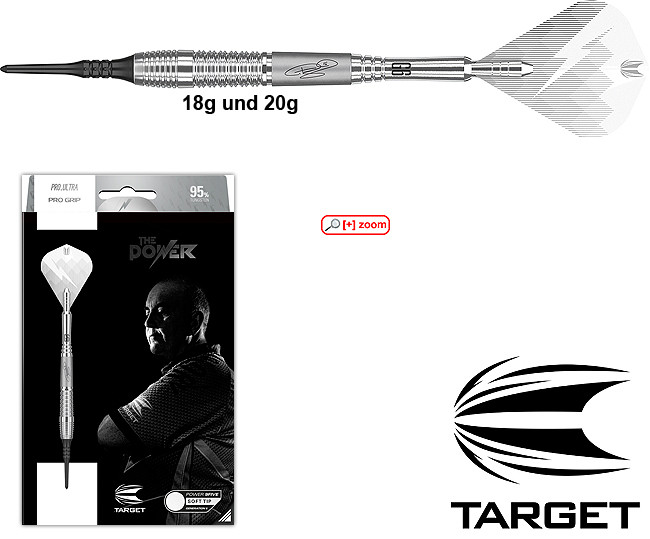 TARGET Power 9Five G6 Soft (Phil Taylor) 95%